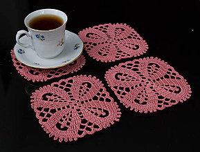 Úžitkový textil - Podšálky 2 - 5813431_