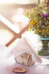 Dekorácie - Brezový stojan na servítky - 5816607_
