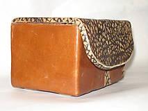Krabičky - šperkovnica ,  pre mužov - 5815819_