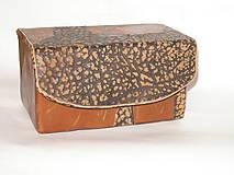 Krabičky - šperkovnica ,  pre mužov - 5815820_