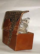Krabičky - šperkovnica ,  pre mužov - 5815821_
