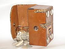 Krabičky - šperkovnica ,  pre mužov - 5815829_