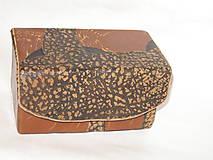 Krabičky - šperkovnica ,  pre mužov - 5815830_