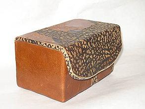 Krabičky - šperkovnica ,  pre mužov - 5815818_