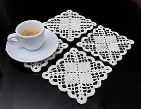 Úžitkový textil - Podšálky 3 - 5816182_