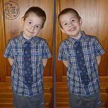 Návody a literatúra - Návod na ušití dětské kravaty - 5816437_