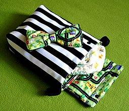 Textil - Plienkovník a mašlička - 5818839_