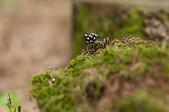 Prstene - Guličkový mini prsteň - 5821585_