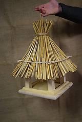 Pre zvieratká - Drevené krmítko pre vtáčiky veľké - 5819861_