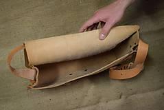 Kabelky - Kožená taška - 5820054_