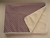 Úžitkový textil - Deka/ prikrývka vlnená De Luxe STAR - 5821836_