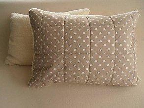 Úžitkový textil - Vankúš 50 x 70 cm ovčie runo De Luxe STAR - 5821814_