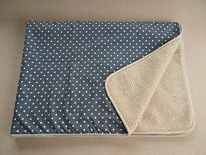 Úžitkový textil - Deka/ prikrývka vlnená De Luxe STAR - 5821893_