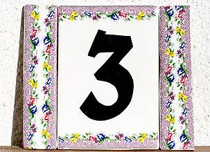 Tabuľky - Čísla na dom - viac tabuliek B - 5820380_