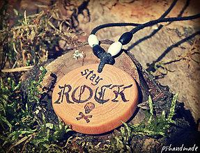Náhrdelníky - stay ROCK - 5823817_