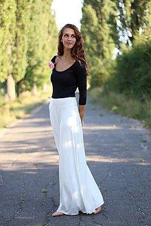 Šaty - Dlhé dvojfarebné šaty - 5822164_