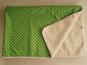 Úžitkový textil - Ovčie runo Deka vlnená De Luxe STAR - 5825226_