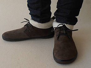 Obuv - Merino liners for barefoot gobi /vložky Merino wool - 5825459_