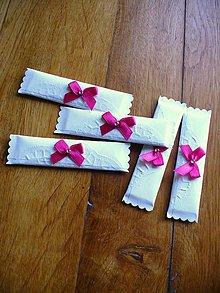 Darčeky pre svadobčanov - svadobná žuvačka - 5824325_