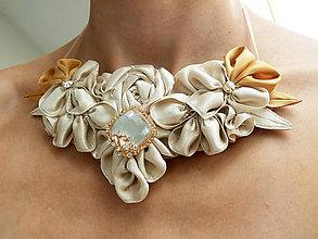 Náhrdelníky - Zlatovláska - náhrdelník - 5823609_