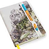 Papiernictvo - Zápisník A6 Skala - 5824066_