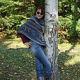 Iné oblečenie - Indiánske pončo pre Tú, ktorá počúva stromy - 5825754_