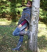Iné oblečenie - Indiánske pončo pre Tú, ktorá počúva stromy - 5825755_