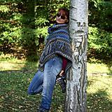 Iné oblečenie - Indiánske pončo pre Tú, ktorá počúva stromy - 5825756_