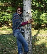 Iné oblečenie - Indiánske pončo pre Tú, ktorá počúva stromy - 5825758_