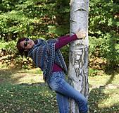 Iné oblečenie - Indiánske pončo pre Tú, ktorá počúva stromy - 5825760_