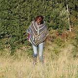 Iné oblečenie - Indiánske pončo pre Tú, ktorá počúva stromy - 5825767_