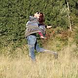 Iné oblečenie - Indiánske pončo pre Tú, ktorá počúva stromy - 5825769_