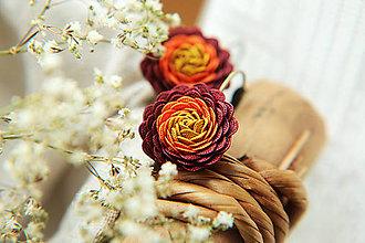 Náušnice - Vo farbách jesene - 5825887_