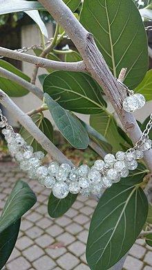 Sady šperkov - Zo šperkovnice ľadovej kráľovnej - súprava - 5827118_