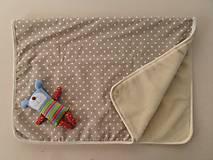 Textil - Deka / prikrývka MERINO pre deti 100 x 140 cm  - 5830356_