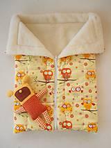 Textil - Merino Deka 75 x 105 cm sovičky - 5830396_