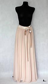 Sukne - Tylová sukňa z kvalitného elastického mäkkého tylu rôzne farby - 5827934_