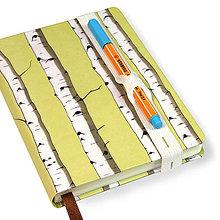 Papiernictvo - Zápisník A6 Breza - 5827624_
