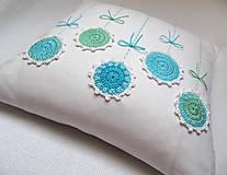 Úžitkový textil - podoby rozkvitnutého tyrkysu... - 5826124_