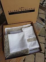 Úžitkový textil - Darčeková sada Exclusive - 5826082_