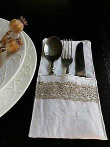 Úžitkový textil - Púzdro na príbor Exclusive - 5826117_