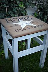 Nábytok - Vintage stolík - 5826784_