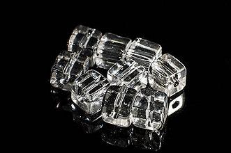 Minerály - Krištál kocka 8mm - 5831456_