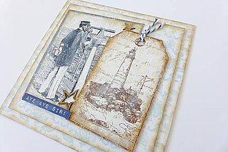 Papiernictvo - pohľadnica námornícka - 5830590_