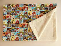 Textil - Deka / prikrývka MERINO pre deti 90x 130cm - 5834257_