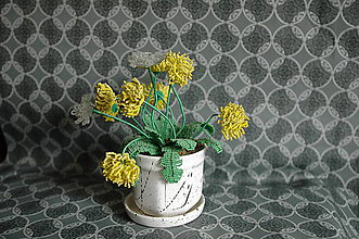 Dekorácie - púpava - 5833376_