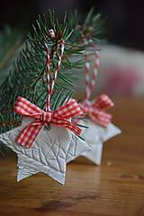Dekorácie - Vianočné hviezdy SKLADOM - 5832750_