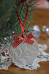 Vianočné ozdoby SKLADOM