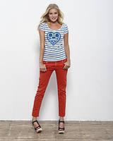 Tričká - Dámske tričko Májofka modrá - 5833541_