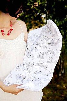 Textil - Podložka do kočíka na mieru - 5837643_